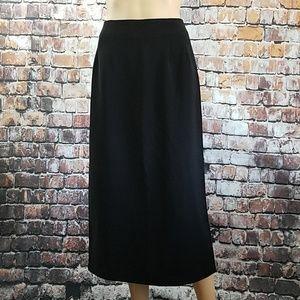 Midi Black Skirt by Briggs